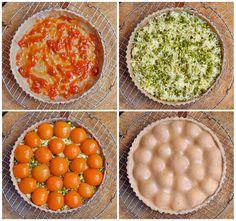 Skvělý meruňkový koláč s mandlovou náplní a pistáciemi ve výborné krustě, která díky lněnému semínku | Veganotic Cantaloupe, Baking, Fruit, Vegetables, Food, Bakken, Essen, Vegetable Recipes, Meals
