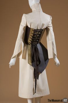 Boudicca ensemble with corset, Fall 2001. Collection of The Museum at FIT. #lingeriehistory