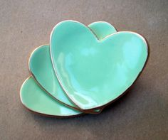 Mint ring dishes