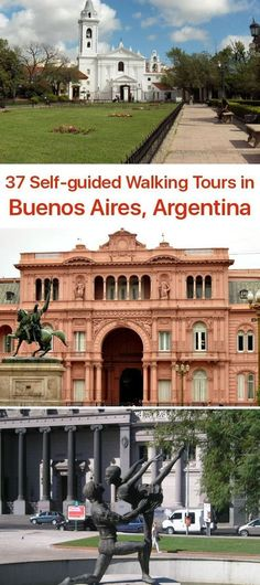 Bueno Aires, Argentina, self-guided, talking tours, South America