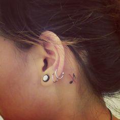 dnznsh's photo on Instagram #Deaf tattoo #Surdez