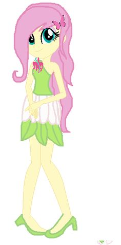 Fluttershy As A Popstar by Starshine9.deviantart.com on @DeviantArt