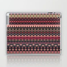 Vintage tribal aztec pattern Laptop & iPad Skin