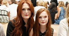 Julianne Moore and daughter Liv Freundlich - face swap