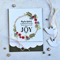 Spirit Of Christmas Card by Heather Nichols for Papertrey Ink (September 2016)