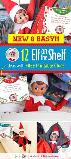 We LOVE Christmas and our Elf on the Self, but we thought it was time for some NEW Elf on the Shelf ideas! The old ones floating around Pinterest are great, but surely he's gotten tired of them. So we set out to create some new shenanigans for your Elf on the Shelf for 2017. Our goal was to keep them fairly quick and easy with a few items that you can grab from your local Dollar Tree. (And maybe you already have some of these things anyway!) We should also note that we made our Elf on the…
