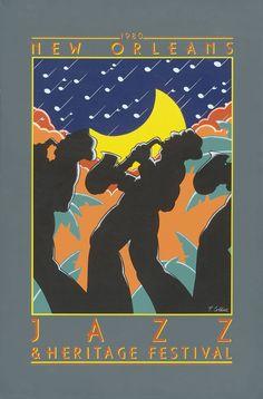 Jazz Fest Poster 1980