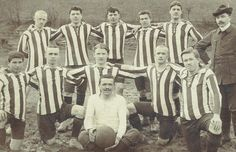 Young Soccer Players 100 years ago