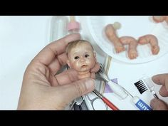 Head armature (Part1/4) - Mini Baby Fully pose-able action (V23) - YouTube