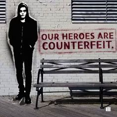 Our heroes are counterfeit. #MrRobot