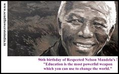 """""""Free yourself, free others, serve everyday"""" by Respected Nelson Mandela Everybody should follow this!!!!"""