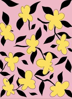 Find Floral Vector Pattern Pink Yellow Color stock images in HD and millions of other royalty-free stock photos, illustrations and vectors in the Shutterstock collection. Design Textile, Design Floral, Textile Patterns, Print Patterns, 60s Patterns, Butterfly Wallpaper, Pastel Wallpaper, Wallpaper Backgrounds, Iphone Wallpaper
