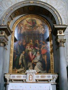 Santi di Tito (1536-1603) - Sacra conversazione - Chiesa di Ognissanti, Firenze
