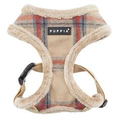 Kemp Basic Style Dog Harness by Puppia - Beige Dog Accesories, Cat Accessories, Collar And Leash, Cat Collars, Girl And Dog, Dog Costumes, Diy Stuffed Animals, Dog Harness, Yorkshire Terrier