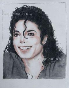 Michael Jackson,King of Pop,Unikat Zeichnung Drawing Bild Art