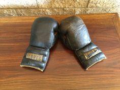 1950's Boxer's Original Boxing Gloves 'RAY FLORES' Excellent Condition Estimate $250+