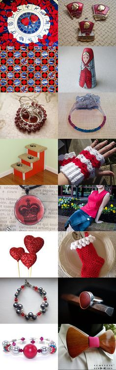 Red and Blue by tigerlilies on Etsy--Pinned with TreasuryPin.com