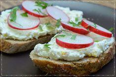 bandorka: Tvarohová pomazánka s ředkvičkami Bread, Brot, Baking, Breads, Buns