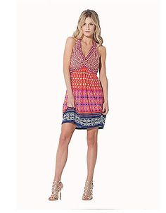 Printed Twist-Front Dress | Lord and Taylor