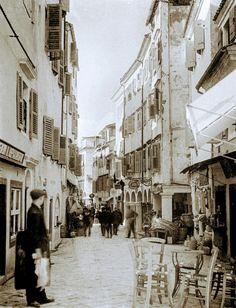 Corfu Greece, Old Navy, Street View, Corfu