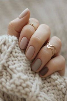 33 Elegant Nail Designs for Nude Nails For YouOwing to the quick dynamic trend of nail art, you may notice it laborious to stay up with what's new for the season. but you ought to feel dangerous as a result of there are more of nail art styles that m Elegant Nail Designs, Colorful Nail Designs, Nail Art Designs, Nails Design, Perfect Nails, Gorgeous Nails, Pretty Nails, Matte Nails, My Nails