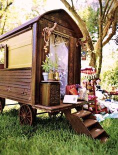 Gypsy wagon. Guest room. Camper. Playhouse.