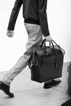 Fashionable weekend bag