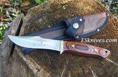 Turtleman Lightnin Stunt Double Hunter Knife | full tang knife | 40% off at ESknives.com | Hunting knives |