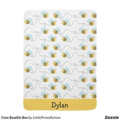 Bumble Bee Baby Blanket