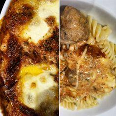 Toscana meat balls in tomato cream sauce with pasta #food #meatballs #pasta
