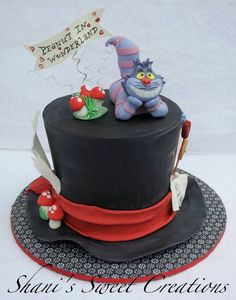 Mad Hatter top hat and Cheshire Cat!