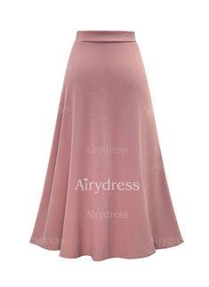 Saias de Poliéster Informal Longo (1062608) @ Modest Outfits, Skirt Outfits, Dress Skirt, Long Maxi Skirts, Printed Skirts, Dress Patterns, Plus Size Outfits, Ideias Fashion, Fashion Dresses