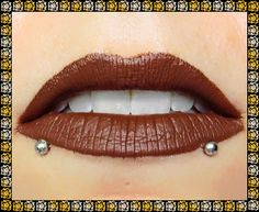 TALISMAN Liquid Matte Lip Color: 3.5 mL or 7 mL Tube, Chocolate Brown, Vegan Matte Lipstick, Ships Out in 6-9 Days by FabledFragrances on Etsy https://www.etsy.com/listing/260540719/talisman-liquid-matte-lip-color-35-ml-or