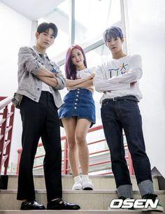 Jinyoung x Jisoo x Doyoung for Osen