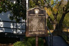 images of historical african american markers by state | Source: David Seibert Marker: African American Pioneers of the Marsh ...