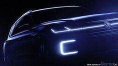 Volkswagen Touareg hybride: teasers