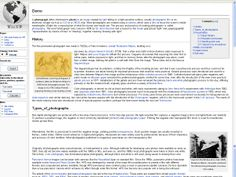 Do you want a 'Wikipedia' look for your site? Then this is theme for you!