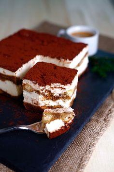 DeLallo Italian Recipes | Tiramisu Coffee Layered Cake Dessert