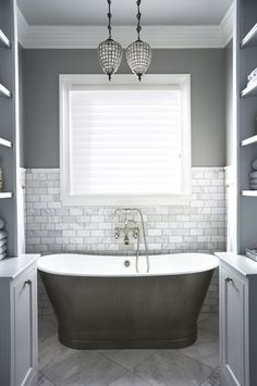 Most Design Ideas Gray And White Marble Bathroom Design Pictures, And Inspiration – Modern House Neutral Bathrooms Designs, Grey Bathrooms, Bathroom Renos, Beautiful Bathrooms, Bathroom Flooring, Master Bathroom, Bathroom Ideas, Bathroom Designs, Bathroom Interior