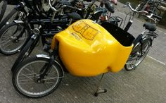 Klompen Bakfiets viewed in Amsterdam