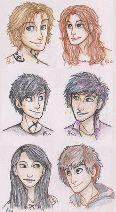 The TMI Teens by Deesney.deviantart.com on @deviantART