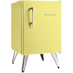 Frigobar Brastemp amarelo 899,00 Lojas americanas