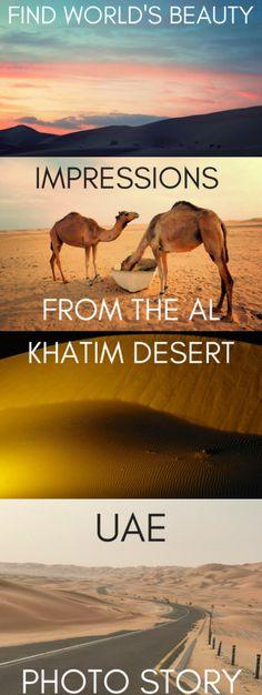 Impressions from the Al Khatim Desert, United Arab Emirates – Find World's Beauty