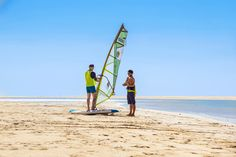 Windsurfing is an easy and accessible water sport. Here's what it takes to become an accomplished beginner windsurfer in a single weekend. Windsurfing, Water Sports, Take That, Memories, Learning, Memoirs, Souvenirs, Sea Sports, Study