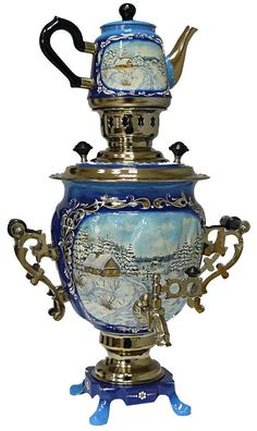 Russian samovar. My dad's mother had this in her apartment.