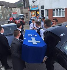 Friends Hold Fake Funeral For Friend Who Is Always With His Girlfriend