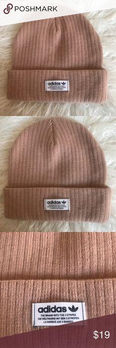 c831fe8088f Light pink adidas beanie Light pink adidas beanie adidas Accessories Hats  Light Pink Adidas