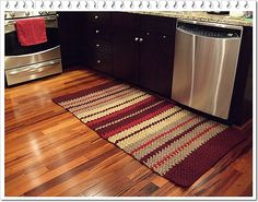 Ravelry: South Riding Kitchen Rug pattern by Chris Totty ~ free pattern