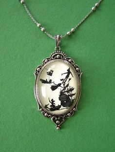 peter pan necklace! PRETTIEST EVER!