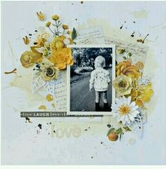 Mixed Media Scrapbooking, Scrapbooking Layouts, Arts And Crafts, Paper Crafts, Layout Inspiration, Scrapbooks, Mini Albums, Frame, Cards
